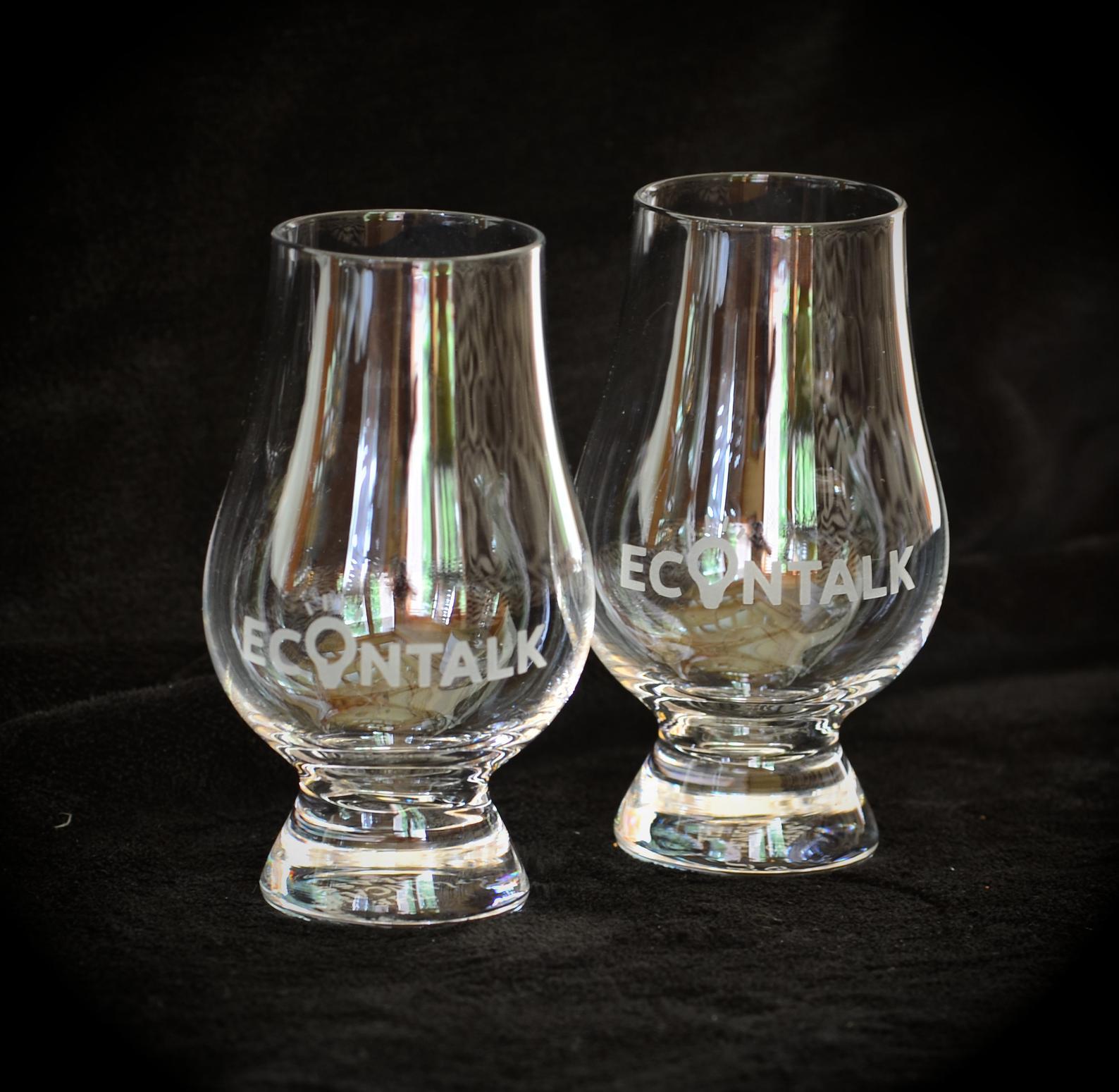 EconTalk Glencairn Glasses