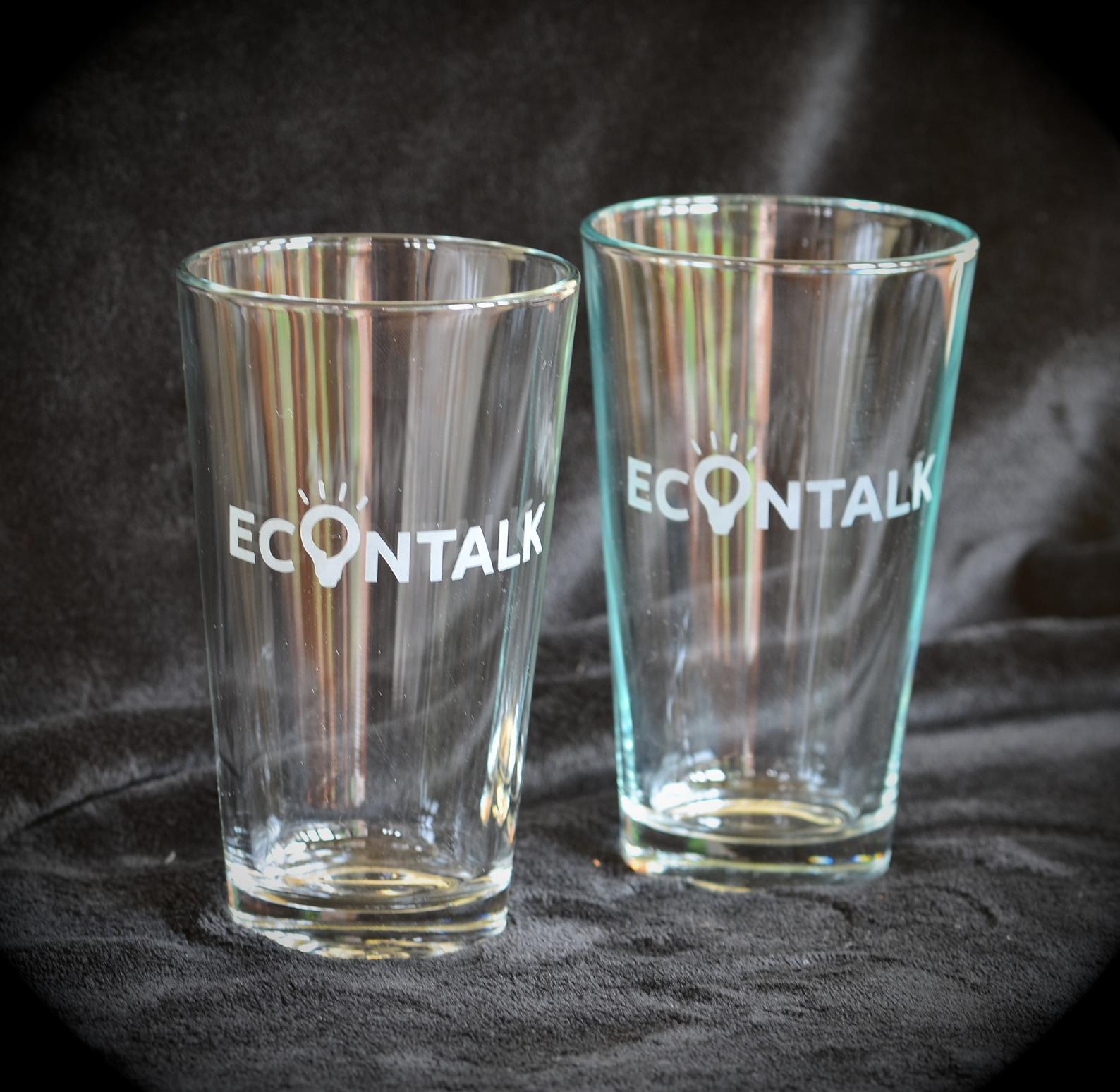 EconTalk Pint Glasses