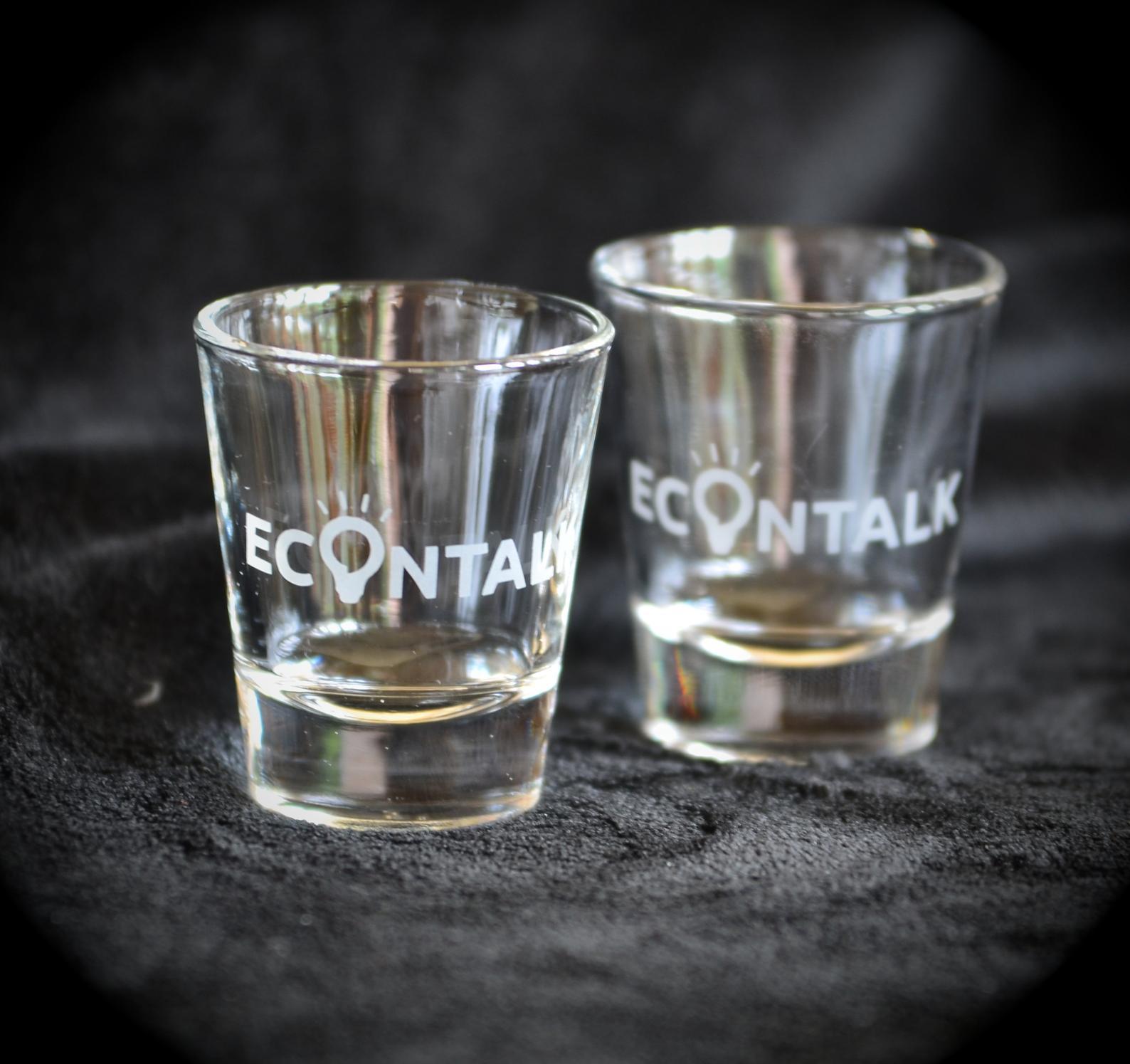EconTalk Shot Glasses